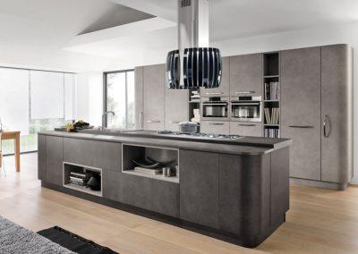 Cucina pietra nera